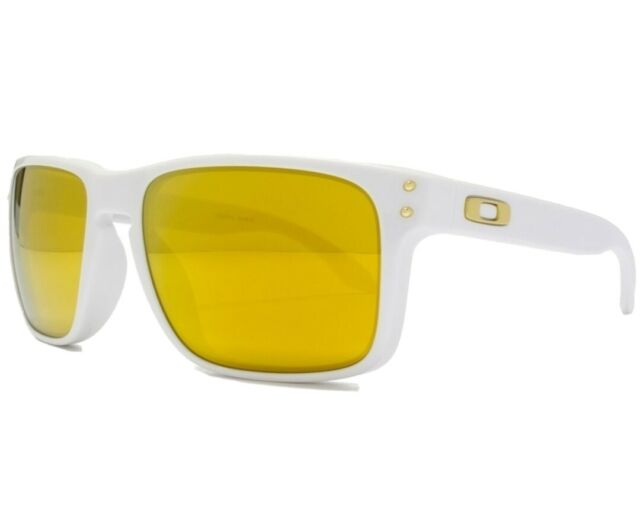 Oakley holbrook Shaun White gafas de sol blanco Sunglasses 24k oro iridium NP € 349