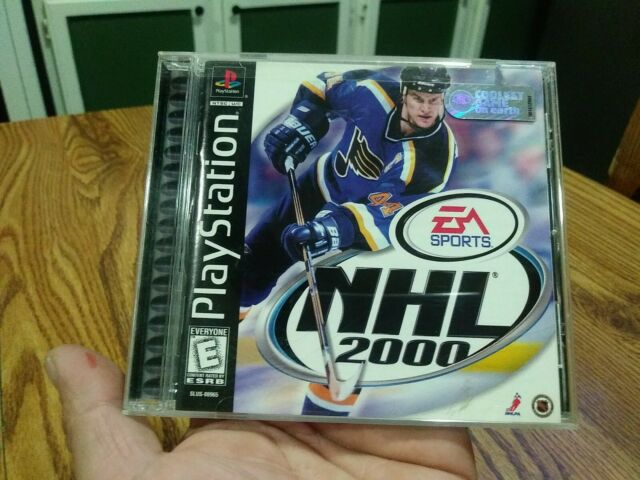 NHL 2000 - Sony PlayStation 1 PS1 - COMPLETE - Tested