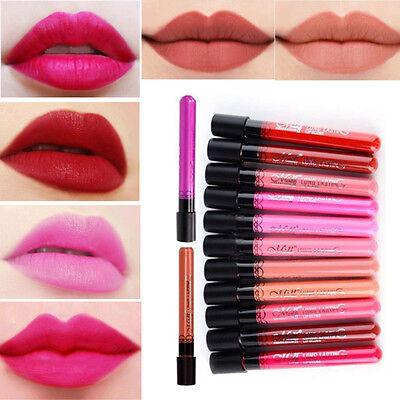 Makeup Lip Pencil Matte Lipstick Lip Gloss Super Long Lasting Waterproof Liquid