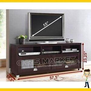 55 tv stand entertainment media center bedroom living room furniture
