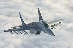 Mig-35-Fighter-Jet-Giant-Print-Art-Picture-Poster-A5-A4-A3-A2-A1-A0-Sizes