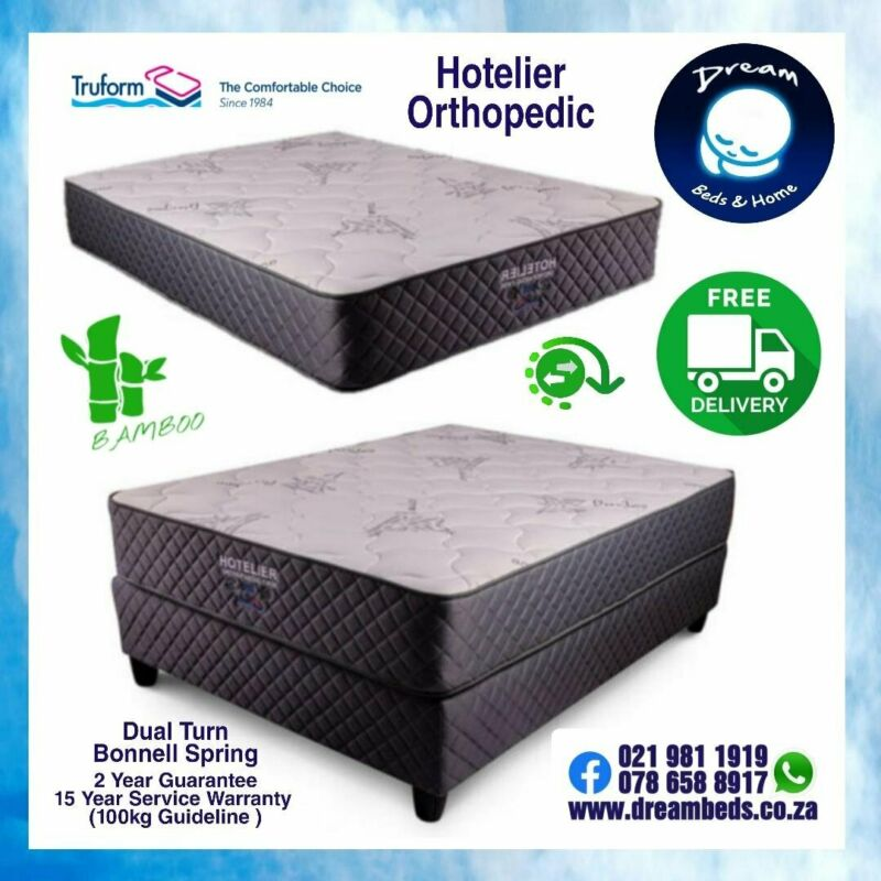 TRUFORM Orthopaedic Beds and Mattresses - FACTORY PRICES and FREE DELIVERY