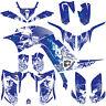 DFR FOLD GRAPHIC KIT BLUE FULL WRAP 06-08 YAMAHA RAPTOR RAPTOR700 700