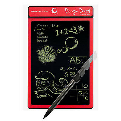 """BOOGIE BOARD Paperless LCD Writing Tablet (8.5""""/Red)"""
