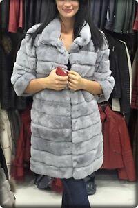 Luxus Echt Pelz Mantel Echt Fell Moderne Chinchilla Jacke Ebay
