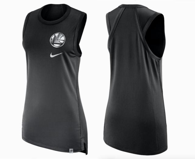 GOLDEN STATE WARRIORS - Nike NBA Women s Sleeveless Top Jersey size L XL -   100 70c5aae7a
