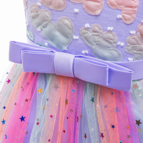 Blumenmädchen Kleid Kinder Ballettkleid Pailletten Tanzkleid  Ballettanzug