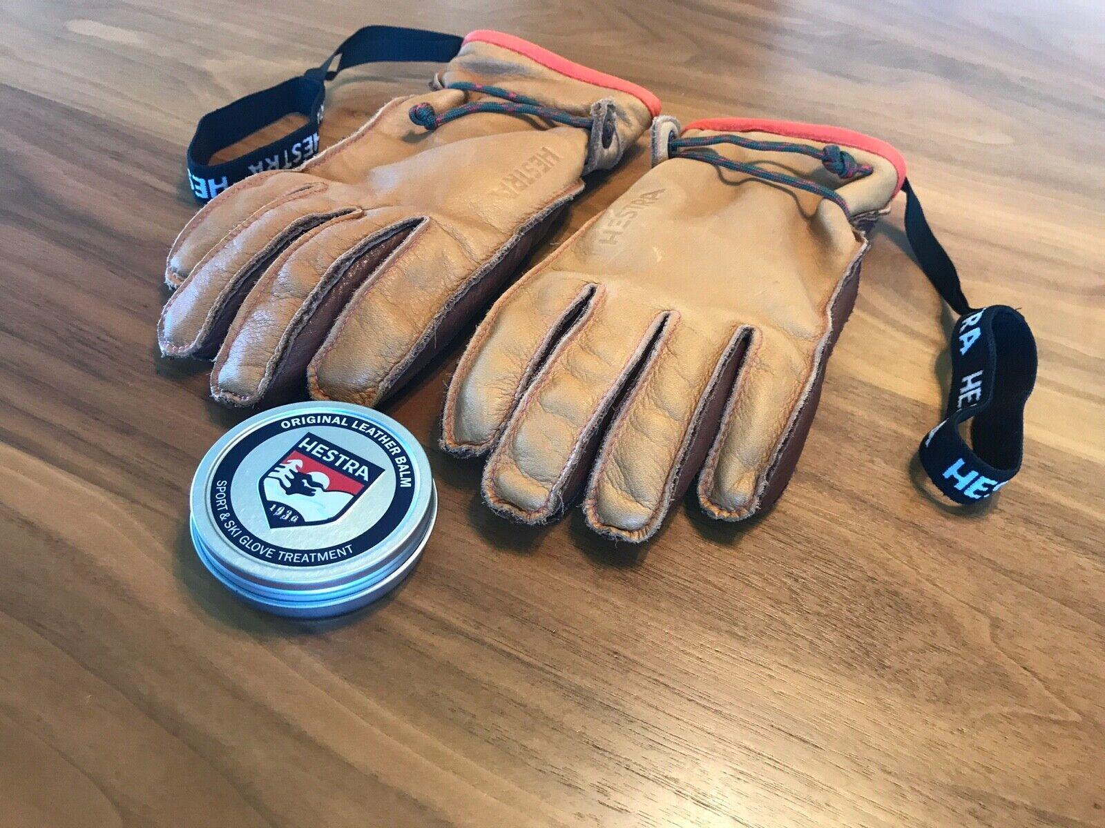 Hestra Glove Care Balm Leather Treatment - 60ml Tin