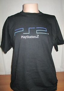 1d27abf87 Sony PS2 Promotional Launch T-Shirt *RARE - Men's X-Large *New *Free ...