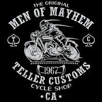 Sons Of Anarchy Jax Teller Samcro Men Of Mayhem Motorcycle Club Men T-shirt M-2x