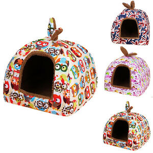Dog House Small Pets House Puppy Beds For Pets Beds Cats For Winter Warm