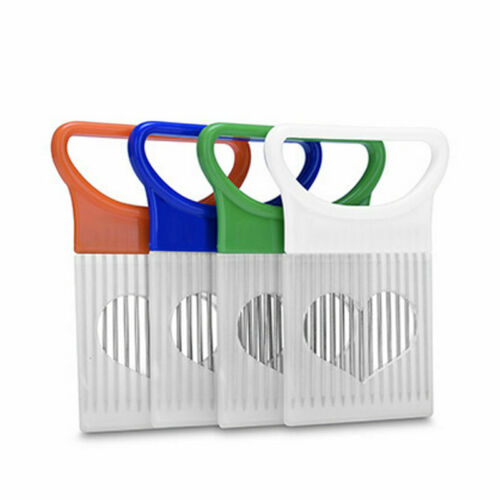 Stainless Steel Onion Slicer Vegetable Tomato Holder Cutter Kitchen Useful Tools
