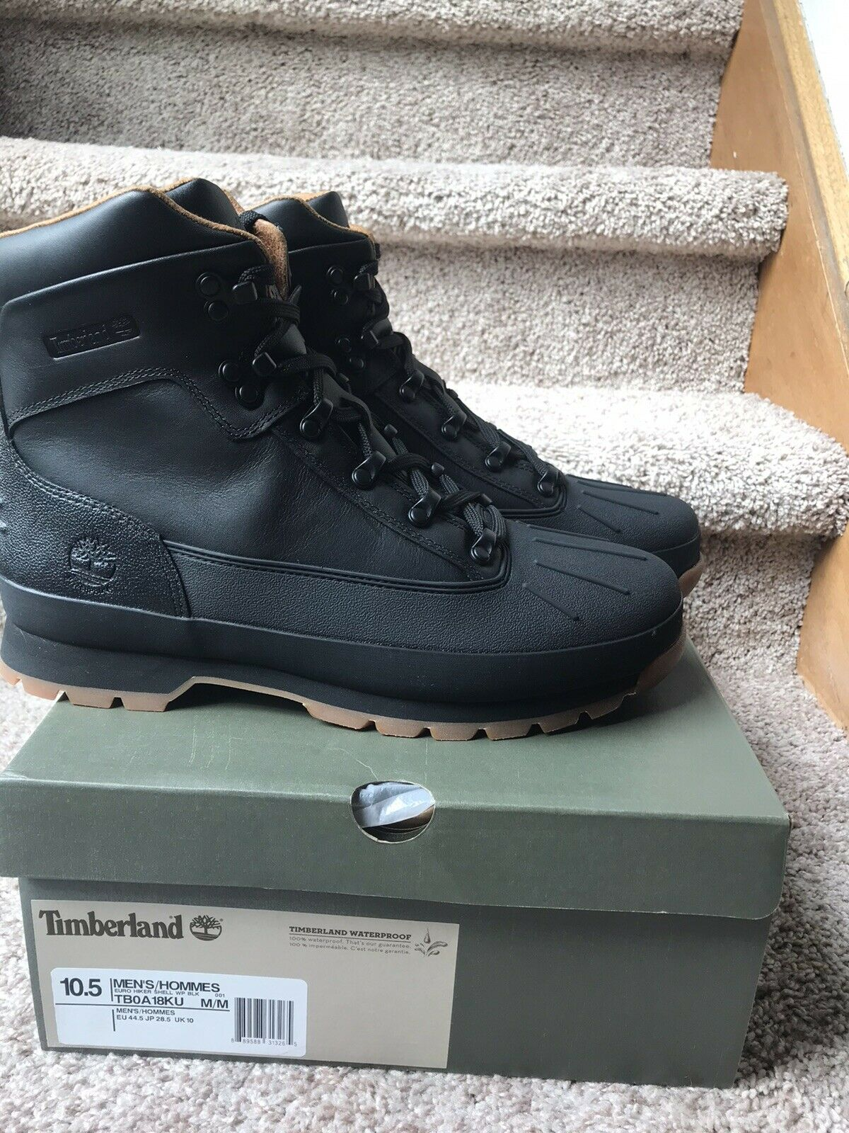 Timberland Euro Hiker Shell-toe Boots