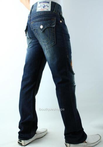 True jeans Rechte Religion Herengestikte klepzakken Geen Nvt ontsnapping sdCtQrh