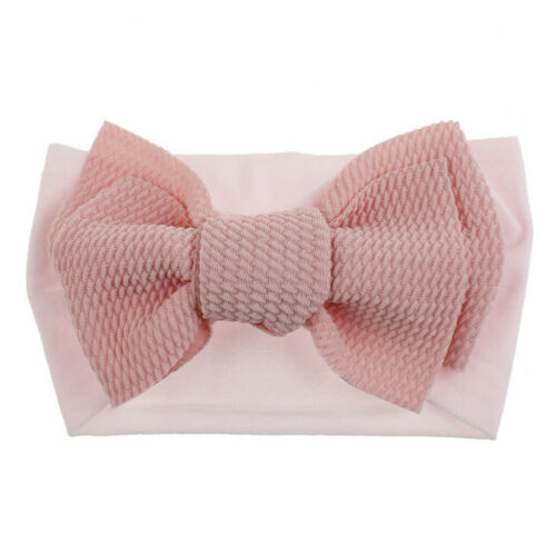 1Pc Fashion Cute Baby Toddler Girl Bowknot Headband Stretch Hairband Headwear