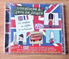 Vol. 5-Comptines Et Jeux De Doigts with  Remi  DVD + CD English