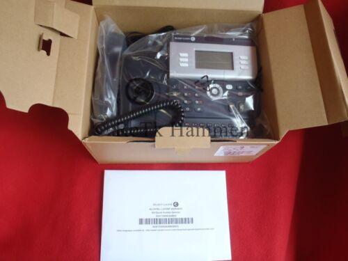 Alcatel Lucent 4029 NEU urban grey grau Digitaltelefon Rechug/_MwSt schwarz OVP