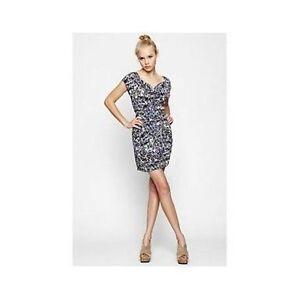 70ca51a42e3 Image is loading BCBGeneration-BCBG-Drape-Side-Dress-cowlneck-Mini-NEW