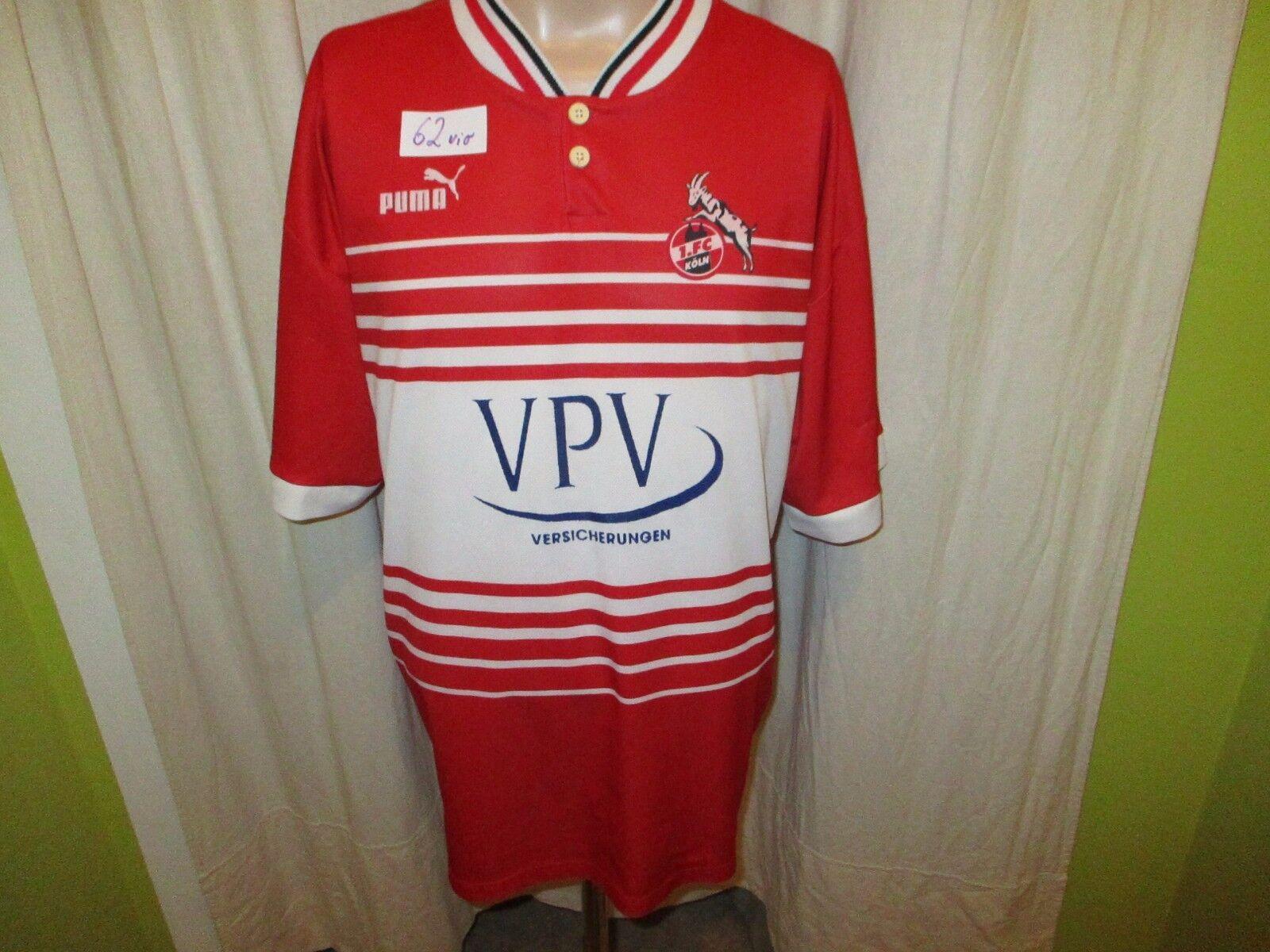 1.FC Köln Original Puma Heim 1999/00 Trikot 1999/00 Heim