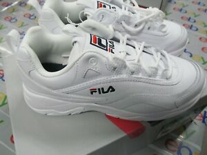 Fila-Women-039-s-Disarray-Black-or-white-Leather-Synthetic-Sneakers-Shoes-PICK-SIZE