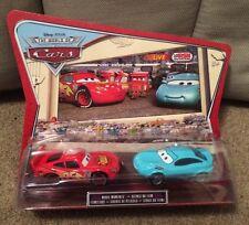 Disney Pixar The World Of Cars 2 Pack KORI TURBOWITZ & LIGHTNING MCQUEEN BNIB