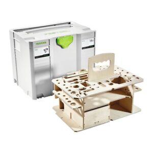 festool systainer t loc sys hwz ohne werkzeug 497658 werkzeugkoffer holzeinsatz ebay. Black Bedroom Furniture Sets. Home Design Ideas