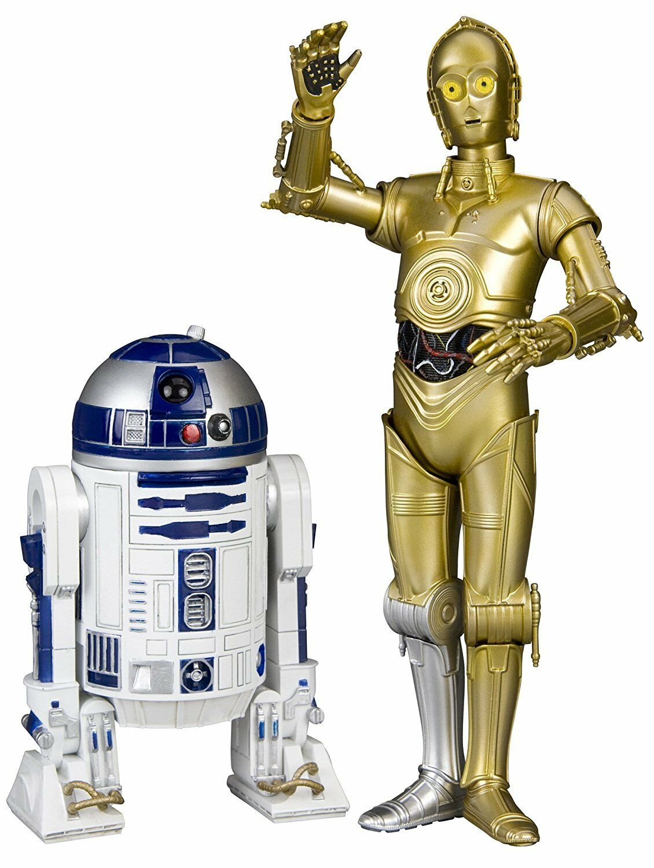 -= ] ] ] KOTOBUKIYA - Star Wars C-3Po & R2-D2 Artfx+ 2-Pack Statua [ =- 570af3