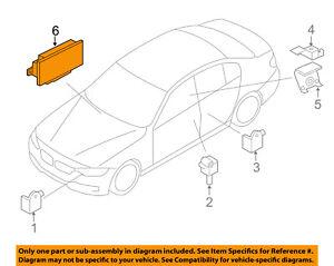 Details about BMW OEM 14-18 X5 Airbag Air Bag-RCM SDM ACM Restraint Control  Module 65776837359