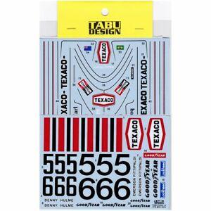 Studio27 Tabu-12044r 1:12 M23 1974 Complet Sponsor Décalques Faire Sentir à La Facilité Et éNergique
