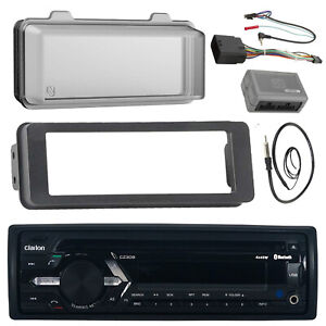 """Antenna Details about  /Harley CD Bluetooth 98-13 Radio Adapter Kit Amp,6.5/"""" Speaker Set,Cover"""