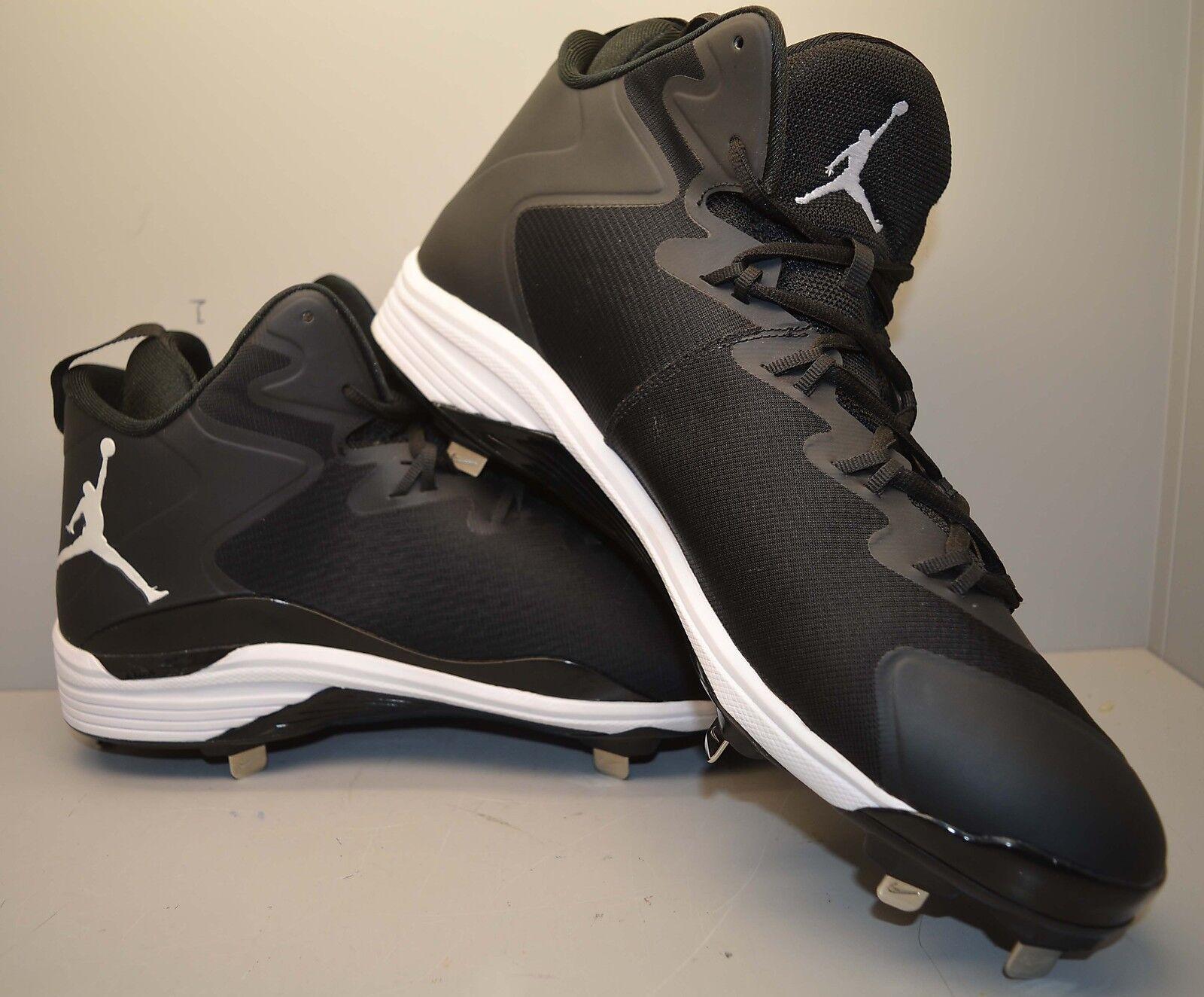 Nike Jordan Super Fly 3 Metal Baseball Cleats 684941-010 Comfortable Seasonal price cuts, discount benefits