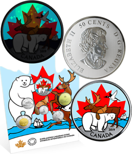 2019 Everlasting Canadian Icons 6Coins Set $2 $1 50c 25c 10c 5c Five Superstars