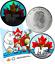 Five Superstars 2019 Everlasting Canadian Icons 6Coins Set $2 $1 50c 25c 10c 5c