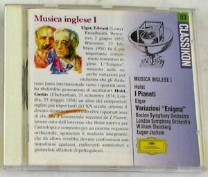 HOLST G. / ELGAR E.- I PIANETI/VARIAZIONI - STEINBERG, JOCHUM- CD Nuovo Unplayed - Italia - HOLST G. / ELGAR E.- I PIANETI/VARIAZIONI - STEINBERG, JOCHUM- CD Nuovo Unplayed - Italia