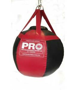 Details About Headshot Wrecking Ball Body Er Boxing Heavy Punching Bag Unfilled