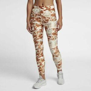 8afb2c40 Image is loading Nike-Dry-Womens-Camo-Training-Tights-Phantom-Desert-