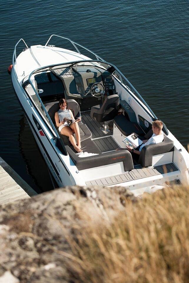 Nordkapp Noblesse 790 - 250 HK Yamaha/Udstyr, Motorbåd,