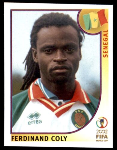Panini World Cup Korea//Japon 2002-FERDINAND COLY SENEGAL Nº 49