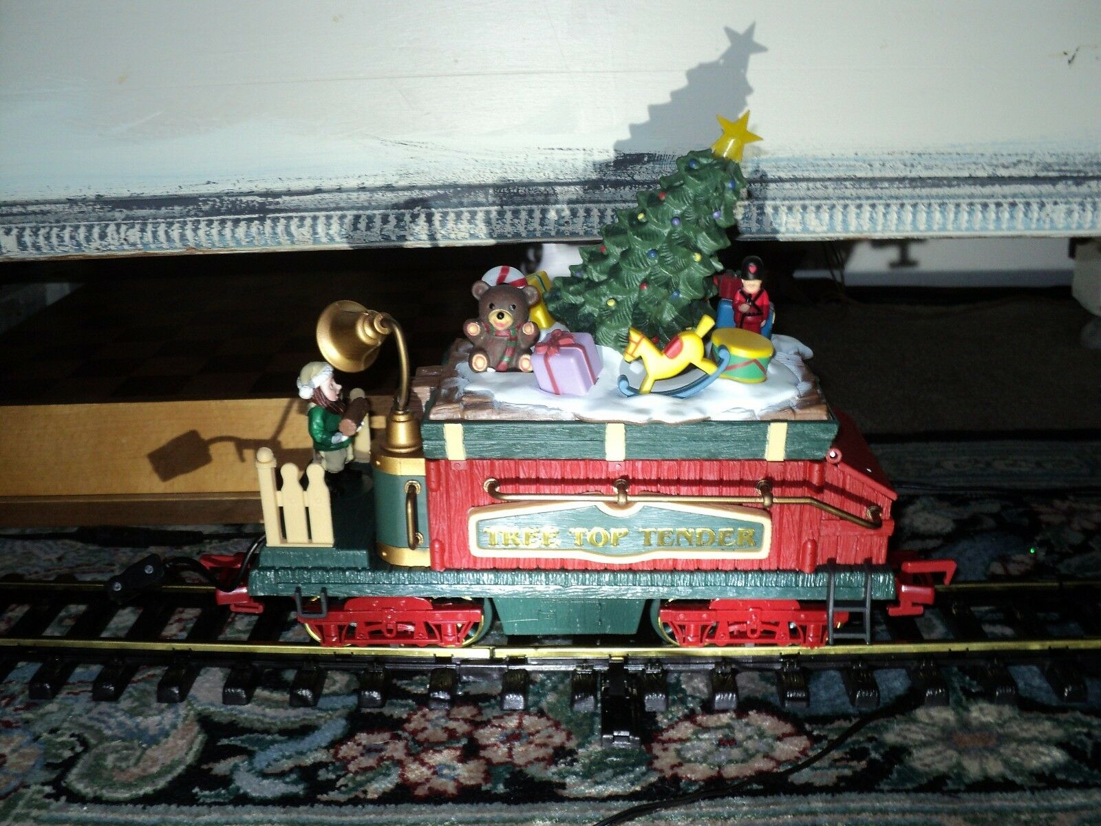 New Bright 387 Holiday Express Animated Train  (Tree Top Tender Car ONLY) piece