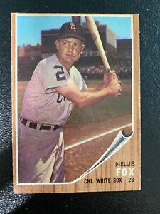 1962-Topps-Baseball-073-Nellie-Fox-Chicago-White-Sox-1-COMBO-SHIPPING