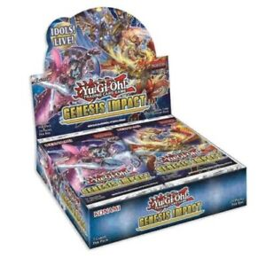 Yugioh Genesis Impact Booster Box 1st Edition Engish 24 Packs Presale Ships 12/3