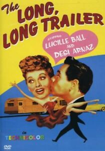 The-Long-Long-Trailer-New-DVD-Amaray-Case-Subtitled-Standard-Screen