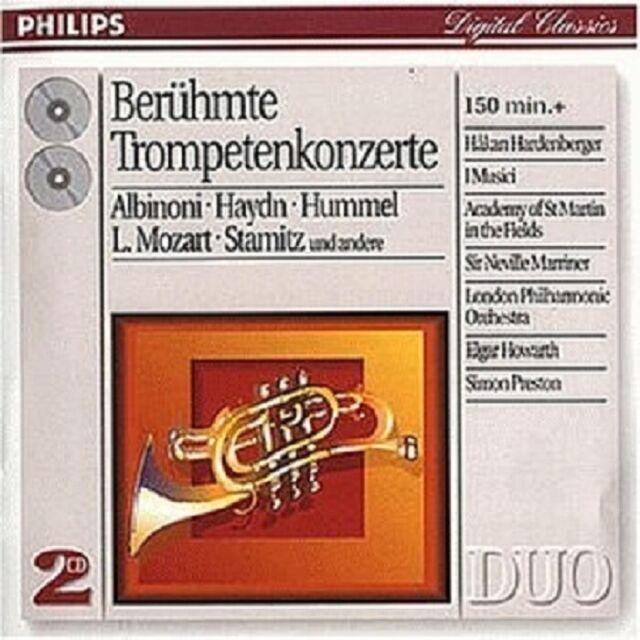 HARDENBERGER/I MUSICI/AMF/LPO - BAROCKE TROMPETENKONZERTE 2 CD NEU
