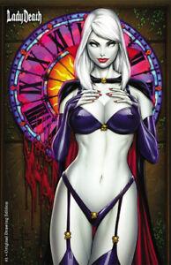 Lady-Death-1-034-Original-Drawing-034-Mike-DeBalfo-Ltd-Ed-180-Comic-Book