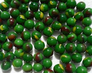 Glass-Peewee-Marbles-12MM-Bulk-Assorted-Mega-Lot-Set-of-50