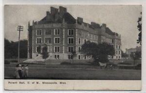 FOLWELL-HALL-UNIVERSITY-OF-MINNESOTA-MINNEAPOLIS-1910-POSTCARD
