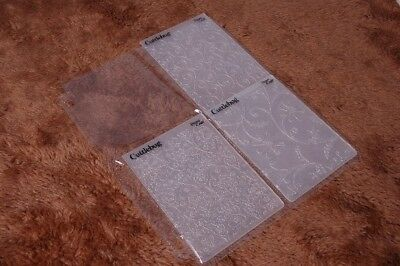 2p//2s Cuttlebug 5x7 provocraft embossing folders Pocketz Pages storage holds 4