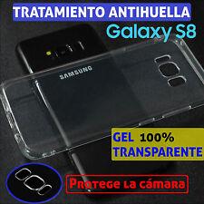 FUNDA TPU DE GEL SILICONA 100% TRANSPARENTE PARA SAMSUNG GALAXY S8 CARCASA
