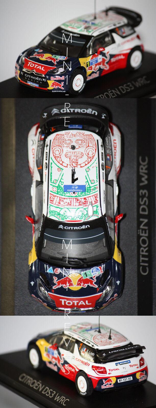 Norev Citroën DS3 WRC 2011 S. Loeb 1 18 181555 4