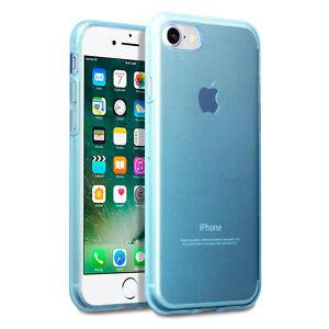 Apple-iPhone-7-Case-Micro-Slim-Cover-Impact-Resistant-Gel-Bumper-Blue-MOB